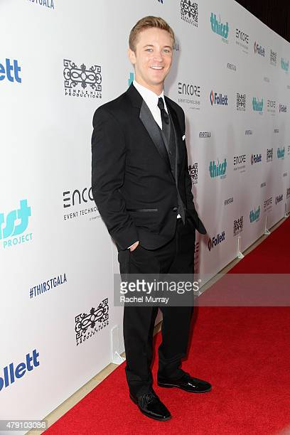 Actor Michael Welch attend the 6th Annual Thirst Gala at The Beverly Hilton Hotel on June 30 2015 in Beverly Hills California