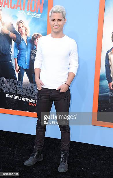 Actor Michael Willett arrives at the Premiere Of Warner Bros 'Vacation' at Regency Village Theatre on July 27 2015 in Westwood California