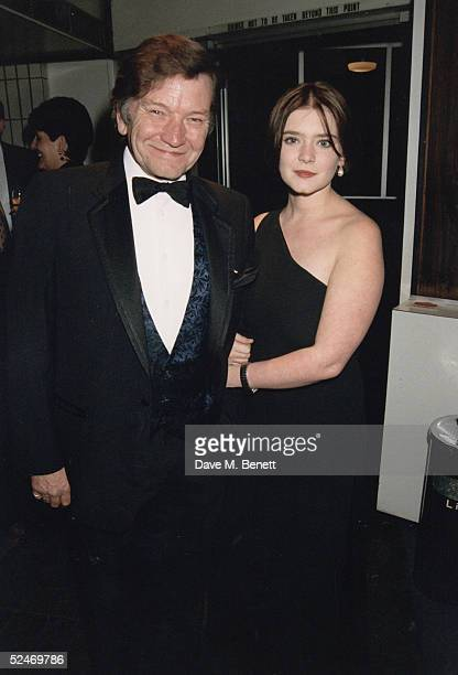 Actor Michael Williams and daughter Finty Williams on April 30 1993 in London