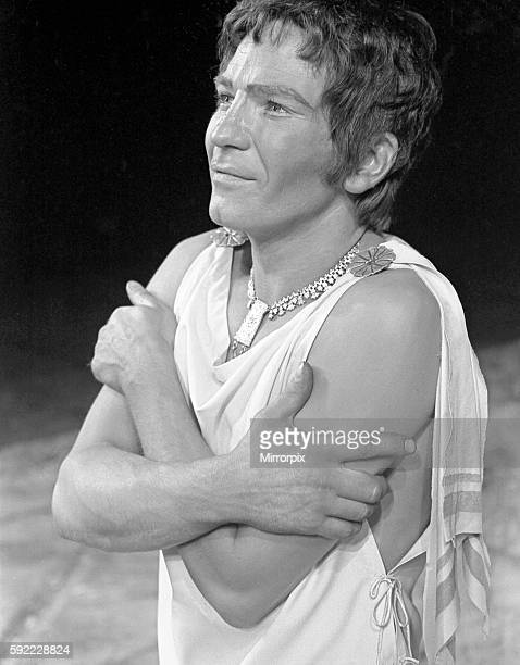 Actor Michael Williams as Troilus in a scene from Troilus and Cressida at the Royal Shakespeare Theatre in Stratford 7th August 1968