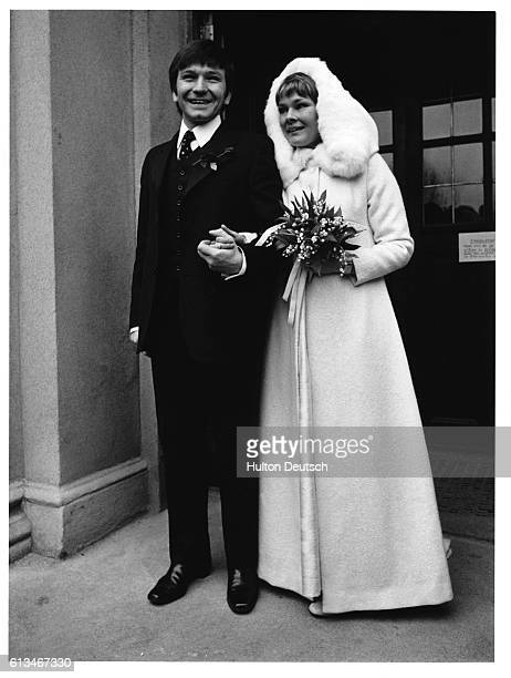 Actor Michael Williams marries the actress Judi Dench 1971