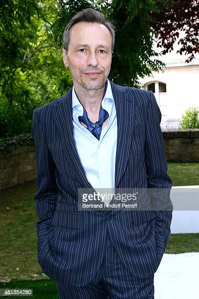 Actor Michael Wincott attends the Berluti show as part of the Paris Fashion Week Menswear Spring/Summer 2015 Held at 'Ecole des Mines' on June 27...