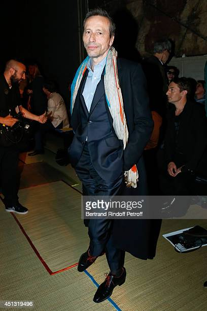Actor Michael Wincott attends the Cerruti show as part of the Paris Fashion Week Menswear Spring/Summer 2015 on June 27 2014 in Paris France