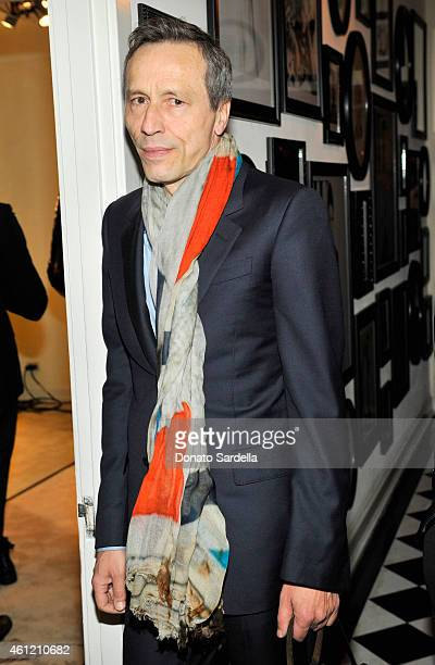 Actor Michael Wincott attends the W Magazine celebration of the 'Best Performances' Portfolio and The Golden Globes with Cadillac and Dom Perignon at...