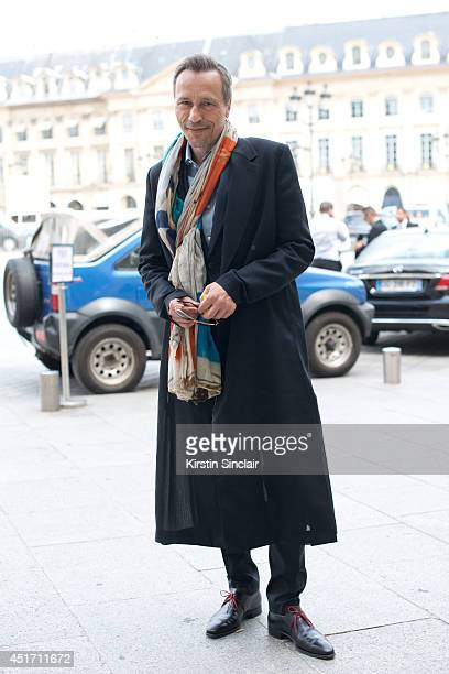 Actor Michael Wincott on day 3 of Paris Collections Men on JUNE 27 2014 in Paris France