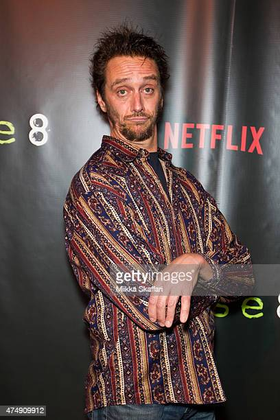 Actor Michael X Sommers arrives at the Premiere of Sense8 at AMC Metreon 16 on May 27 2015 in San Francisco California
