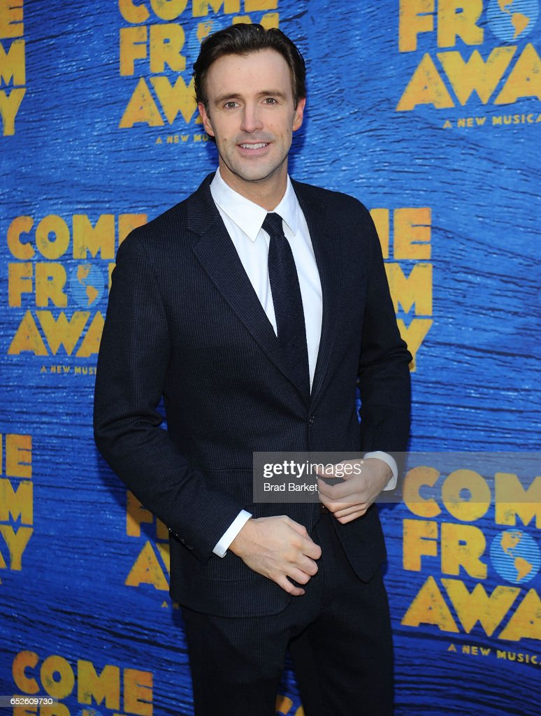 Actor Michael Xavier attends the 'Come From Away' Broadway Opening Night - Arrivals & Curtain Call at Gerald Schoenfeld Theatre on March 12, 2017 in New York City.