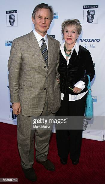 Actor Michael York and his wife Patricia McCallum arrive at the 12th Annual BAFTA/LA Tea Party at the Park Hyatt January 15 2006 in Century City...