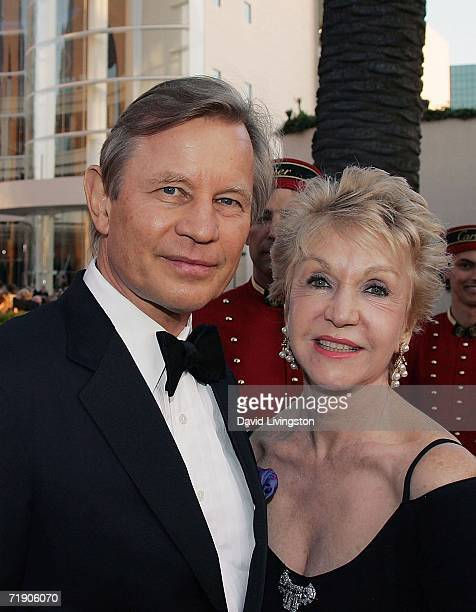 Actor Michael York and his wife Patricia McCallum attend the Orange County Performing Arts Center's celebration of its opening of the Renee and Henry...
