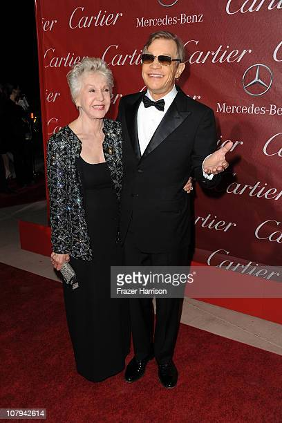 Actor Michael York and Pat York arrive at the2011 Palm Springs International Film Festival Awards Gala at the palm Spring Convention Centre on...