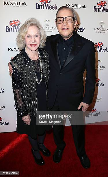 Actor Michael York and wife Pat York attend BritWeek's 10th Anniversary with a performance of Muder Lust and Madness at the Wallis Annenberg Center...