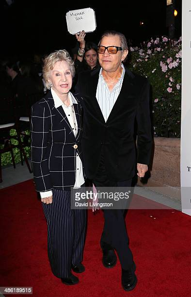 Actor Michael York and wife Pat York attend the 8th Annual BritWeek Launch Party on April 22 2014 in Los Angeles California