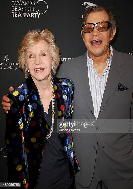 Actor Michael York and wife Pat York attend the BAFTA LA 2014 awards season tea party at Four Seasons Hotel Los Angeles at Beverly Hills on January...