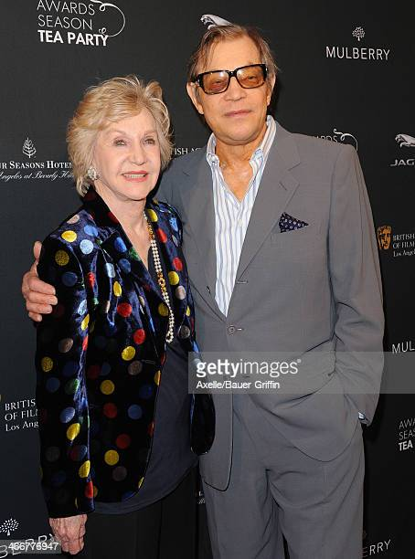 Actor Michael York and wife Pat York attend the BAFTA LA 2014 Awards Season Tea Party at Four Seasons Hotel Los Angeles in Beverly Hills on January...