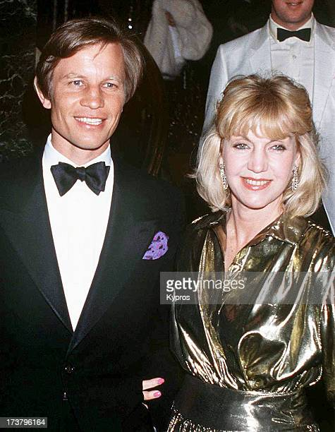 Actor Michael York with his wife Patricia circa 1990