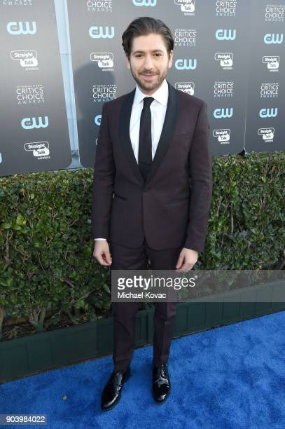 Actor Michael Zegen attends the 23rd Annual Critics' Choice Awards on January 11 2018 in Santa Monica California