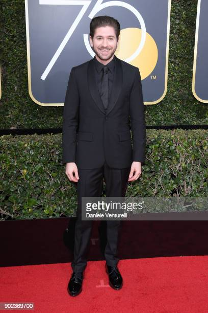 Actor Michael Zegen attends The 75th Annual Golden Globe Awards at The Beverly Hilton Hotel on January 7 2018 in Beverly Hills California