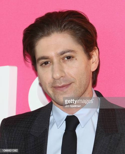 Actor Michael Zegen attends the The Marvelous Mrs Maisel New York premiere at The Paris Theatre on November 29 2018 in New York City