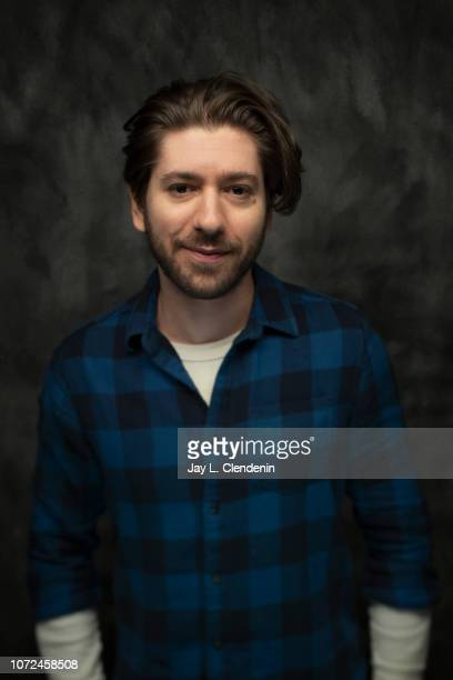 Actor Michael Zegen from Tyrel is photographed for Los Angeles Times on January 20 2018 in the LA Times Studio at Chase Sapphire on Main during the...