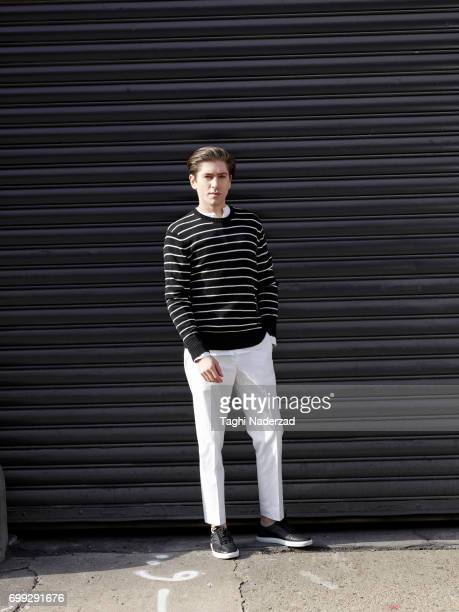 Actor Michael Zegen is photographed for Ovadia Sons on January 15 2015 in New York City