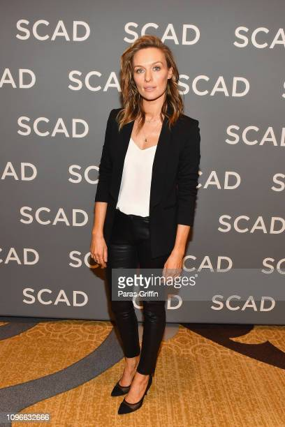 "Actor Michaela McManus attends ""The Village"" press junket during SCAD aTVfest 2019 at Four Seasons Hotel on February 9, 2019 in Atlanta, Georgia."