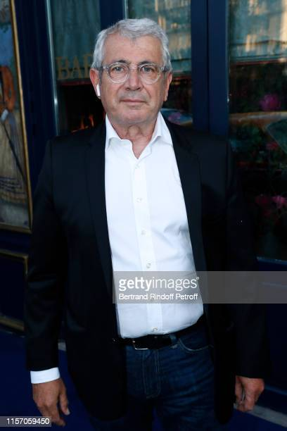 Actor Michel Boujenah attends the Laperouse Mask Ball on the occasion of the inauguration evening of the Laperouse Restaurant as part of Paris...