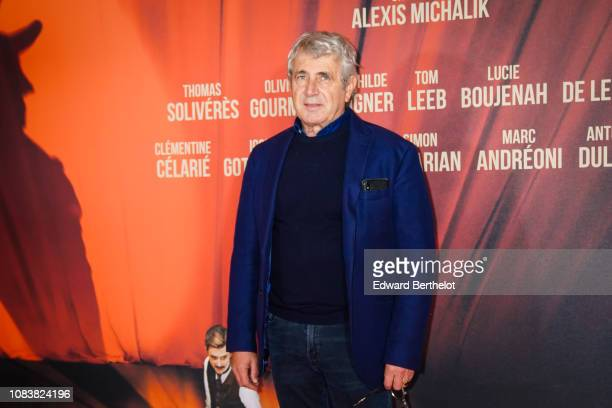 Actor Michel Boujenah during the 'Edmond' Paris Premiere photocall at Cinema Pathe Beaugrenelle on December 17 2018 in Paris France