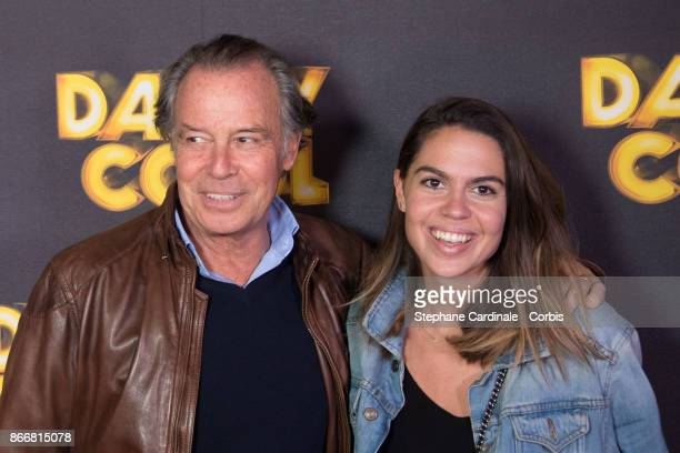 Actor Michel Leeb and his daughter Fanny attend the Daddy Cool Paris Premiere at UGC Cine Cite Bercy on October 26 2017 in Paris France