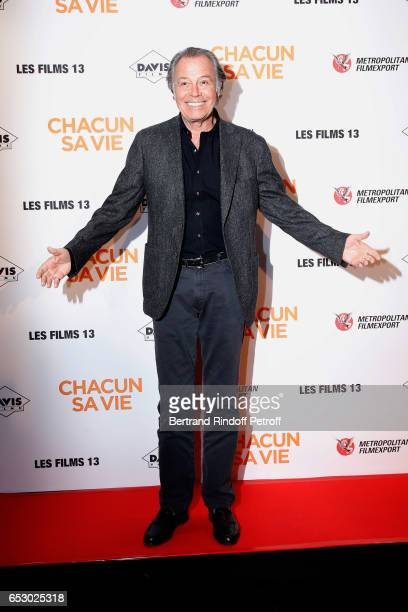 Actor Michel Leeb attends the 'Chacun sa vie' Paris Premiere at Cinema UGC Normandie on March 13 2017 in Paris France