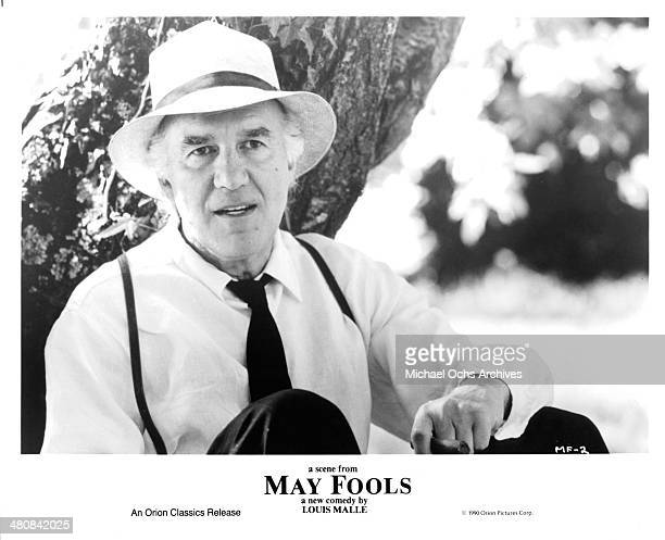 Actor Michel Piccoli in a scene from the movie May Fools circa 1990