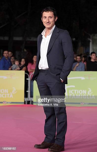 """Actor Michele Alhaique attends """"K2 La Montagna degli Italiani"""" Premiere during the 2012 RomaFictionFest at Auditorium Parco della Musica on October..."""