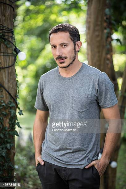 Actor Michele Alhaique is photographed for Self Assignment on August 31 2014 in Venice Italy