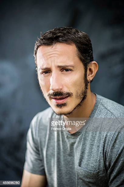 Actor Michele Alhaique is photographed on September 2 2014 in Venice Italy