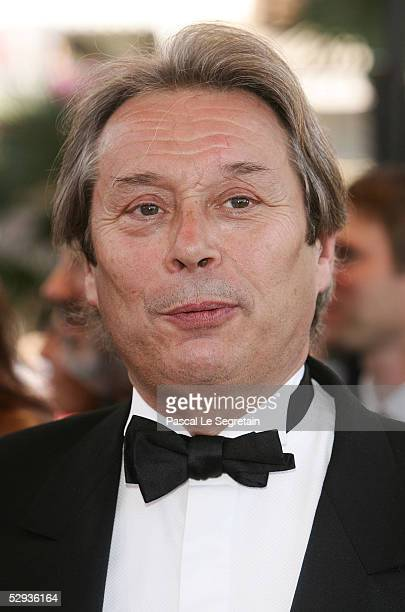 Actor Michele Bouchitez attends the screening of Peindre Ou Faire L'Amour at the Palais during the 58th International Cannes Film Festival May 18...