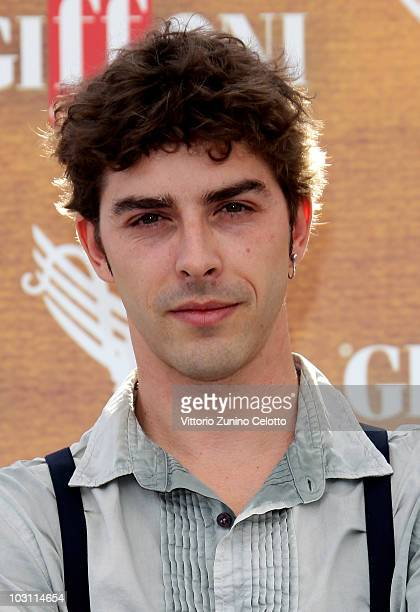 Actor Michele Riondino attends a photocall during Giffoni Experience 2010 on July 27 2010 in Giffoni Valle Piana Italy