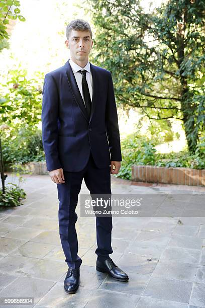 Actor Michele Riondino poses on September 5 2016 in Venice Italy