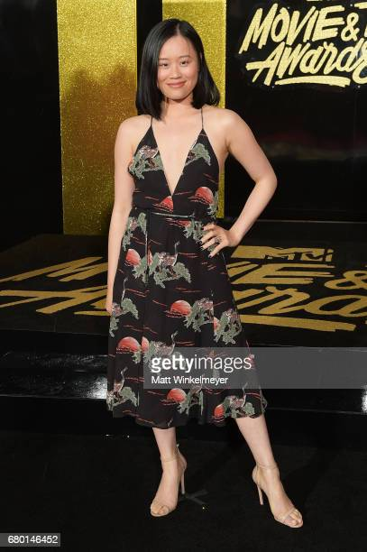 Actor Michele Selene Ang attends the 2017 MTV Movie And TV Awards at The Shrine Auditorium on May 7 2017 in Los Angeles California