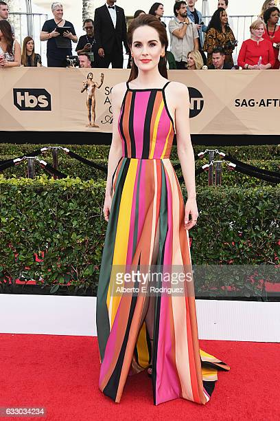 Actor Michelle Dockery attends the 23rd Annual Screen Actors Guild Awards at The Shrine Expo Hall on January 29 2017 in Los Angeles California