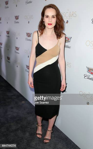Actor Michelle Dockery attends the Cadillac Oscar Week Celebration at Chateau Marmont on February 23 2017 in Los Angeles California