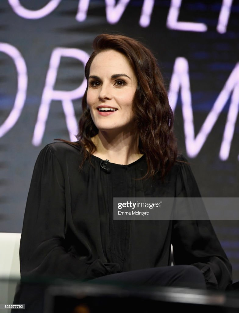 Actor Michelle Dockery of 'Leading Women In Comedy & Drama' speaks onstage during the TCA Turner Summer Press Tour 2017 Presentation at The Beverly Hilton Hotel on July 27, 2017 in Beverly Hills, California. 27049_002