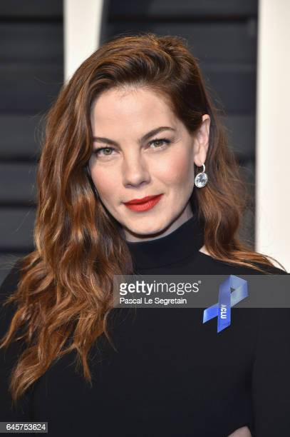 Actor Michelle Monaghan attends the 2017 Vanity Fair Oscar Party hosted by Graydon Carter at Wallis Annenberg Center for the Performing Arts on...