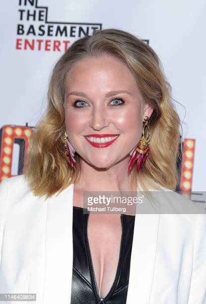 Actor Michelle Mueller attends a Los Angeles VIP industry screening with the filmmakers and cast of DIVOS at TCL Chinese 6 Theatres on May 01 2019 in...