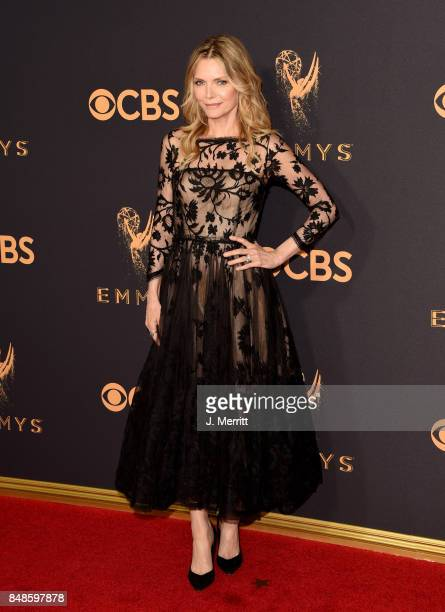 Actor Michelle Pfeiffer attends the 69th Annual Primetime Emmy Awards at Microsoft Theater on September 17 2017 in Los Angeles California