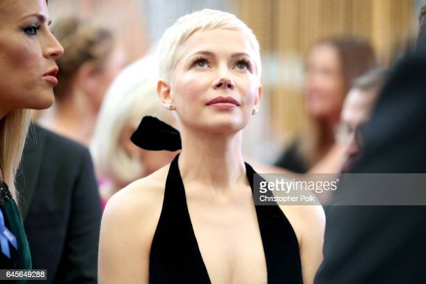 Actor Michelle Williams attends the 89th Annual Academy Awards at Hollywood Highland Center on February 26 2017 in Hollywood California