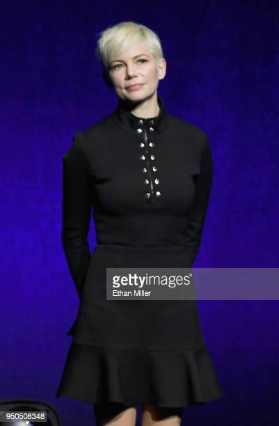 Actor Michelle Williams onstage during the CinemaCon 2018 Gala Opening Night Event Sony Pictures Highlights its 2018 Summer and Beyond Films at The...