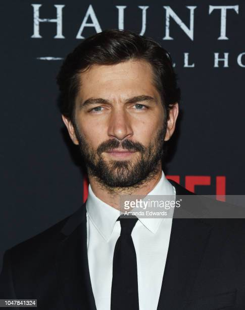 Actor Michiel Huisman arrives at Netflix's The Haunting Of Hill House Season 1 Premiere at ArcLight Hollywood on October 8 2018 in Hollywood...