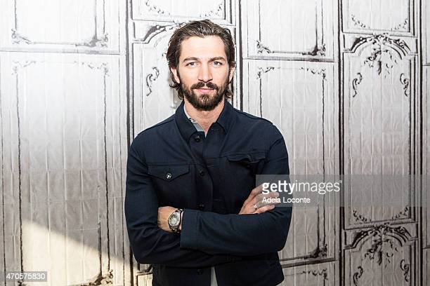 Actor Michiel Huisman attends AOL Build Speakers Series Michiel Huisman at AOL Studios In New York on April 21 2015 in New York City