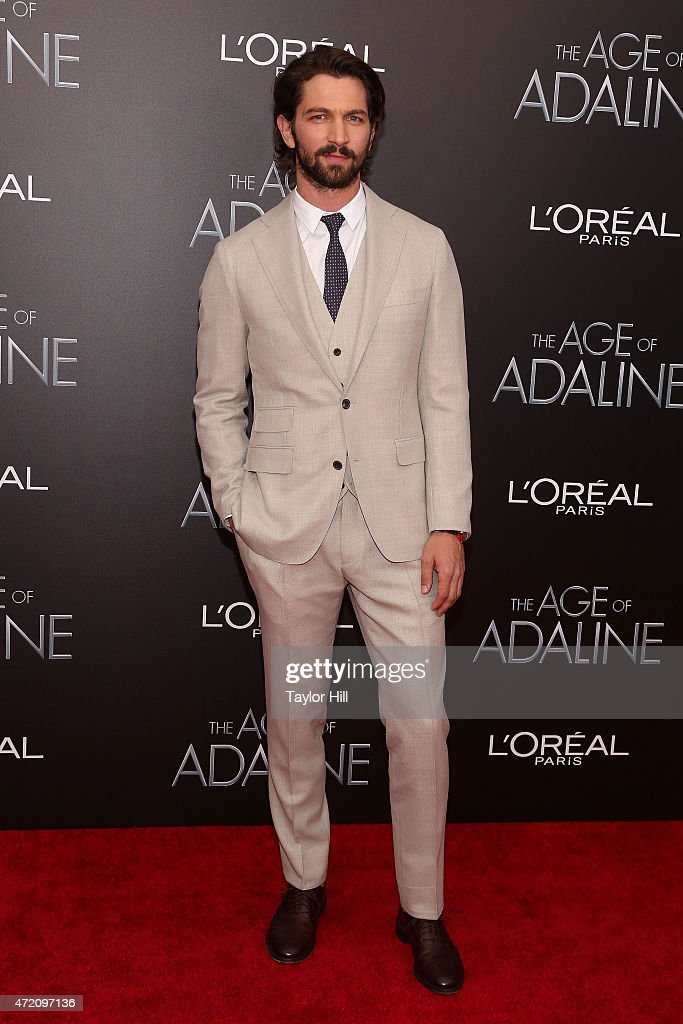 Actor Michiel Huisman attends 'The Age of Adaline' premiere at AMC Loews Lincoln Square 13 theater on April 19, 2015 in New York City.