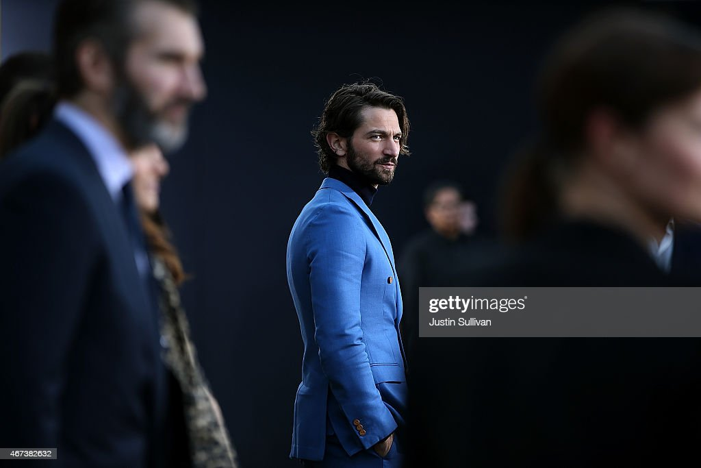 Actor Michiel Huisman attends the premiere of HBO's 'Game of Thrones' Season 5 at San Francisco Opera House on March 23, 2015 in San Francisco, California.