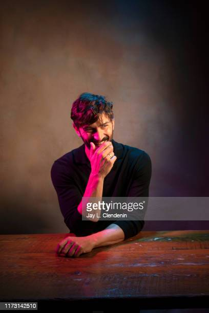 Actor Michiel Huisman from 'The Other Lamb' is photographed for Los Angeles Times on September 6 2019 at the Toronto International Film Festival in...
